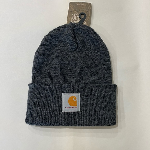 Carhartt Other - Cathartt Full Rib Knit Rolled Brim Beanie Hat